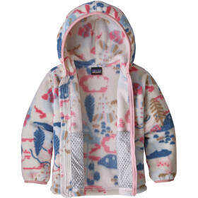 Patagonia Synchilla Cardigan Baby Kinderen, wander the woods/hawthorne blue